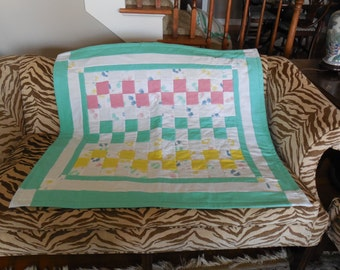 HANDS and FEET print Quilt