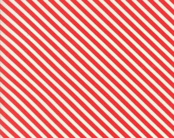 Bonnie Camille - Handmade - Bonnie Camille Floral Candy Stripe Red  - 55145 11