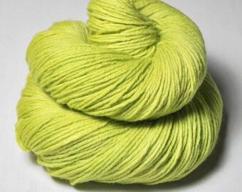 Splitted lime - Merino Sport Yarn Machine Washable