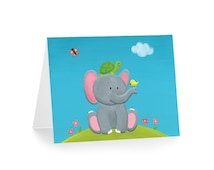 Elephant Baby Shower / New Baby Card
