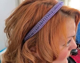 Decorated Crochet Headband