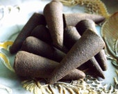 MOON Incense Cones - cone incense, ritual magic, Goddess, moon magic, Wiccan, Pagan, witchcraft supply, altar incense, ritual incense