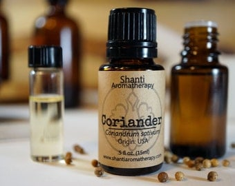 Coriander Essential Oil - Pure Essential Oil Aromatherapy