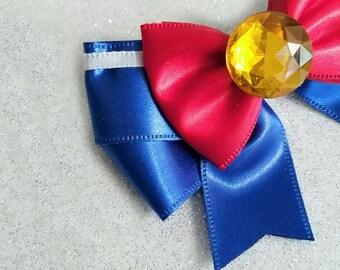 Mini Sailor Moon  hair bow