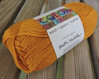 WORSTED Weight Yarn - #3250 - Wool Alpaca Mohair -  Classic Elite Yarns Color by Kristin - 50 g 93 yards