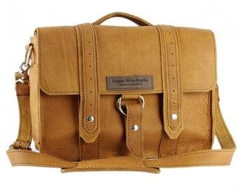 """14"""" Grizzly Tan Newtown Voyager Laptop Bag - 14-V-GZ-LAP"""