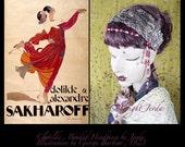 1920s Headpiece,Art Deco Headpiece,20s Dress headpiece,Embroidered Headpiece,1920s Head Piece,Downton Abbey,Flapper Headband