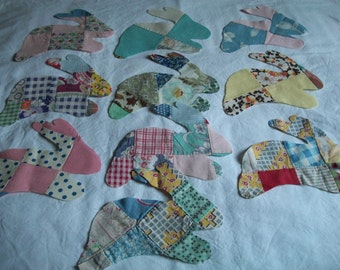 Release the Bunnies, Applique Shapes, Bunnies, Patchwork