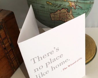 Housewarming Card | Welcome Card | Welcome Home Card | New House Card  |Friendship Card | Card for him | Card for her | Love Card