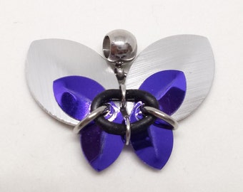 Scalemaille Butterfly Pendant