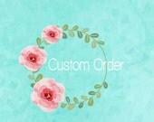 Custom Order for S. Molinari