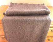 Stay Warm... Vintage Wool Gray Blanket, Camp Blanket