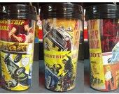CUSTOM Vintage Hot Rod Dragstrip Movie Poster Travel Coffee Mug