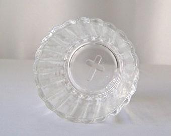 Vintage Glass Sacrament Cup Mid Century Modern Vintage 1950s