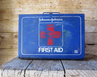 Vintage First Aid Box Wall Mount First Aid Kit