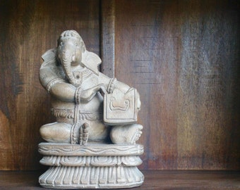 Wooden Ganesha Harmonium Music of the Spheres Hand carved teak  Shipping Included