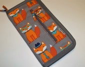 Travel/Project case in Foxy
