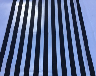 Black and White Stripe Table Runner, Extra Wide Runner, Baby Shower, Bridal Shower, Party, Home Decor, Custom Sizes Available