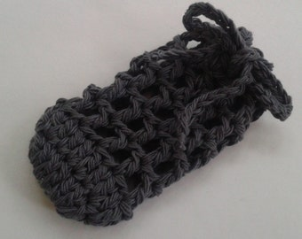 Reusable Bathroom Soap Sock/Sack/Saver /Bath Loofah Scrubby/Washcloth/Body