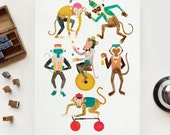 SALE Item - Monkey Bellhop