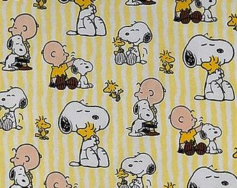 Snoopy Scrub Hats Medical Scrub Hat Snoopy Stripe with peanuts gang -  Solid Yellow headband
