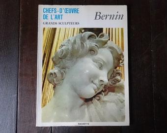 Vintage French Large Paperback Art Reference Magazines Sculptures Bernin Chefs-D'Oeuvre De L'Art circa 1969 / English Shop