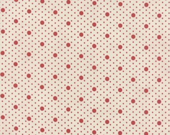 Miss Scarlet Stone with Red Dots by Minick & Simpson for Moda