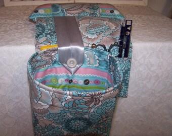 Scrap Bag Pincushion Organizer - Scrap Bag Catcher - Thread Catcher - Snippets - Snippets Catcher - Needlework Scrap Bag