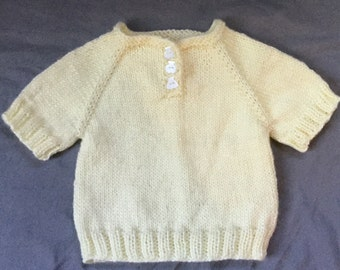Cream Tedyy Bear Sweater