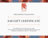 Maisha Collective Gift Certificate