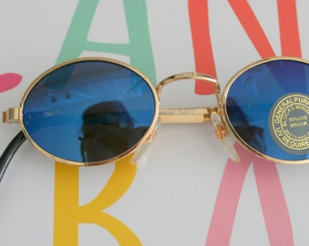 90s MIRROR SPECTACLES Sunglasses..uv. lennon. round lens. retro. sunglasses. rad. hipster. urban. rock n roll. party. mod. indie. spectacles