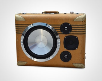 Skymaster by HiFi Case - Portable Bluetooth Boombox Speaker