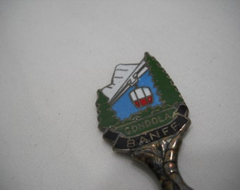 Banff Gondola Collectible Souvenir Spoon