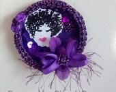 Purple Elegant Magnet