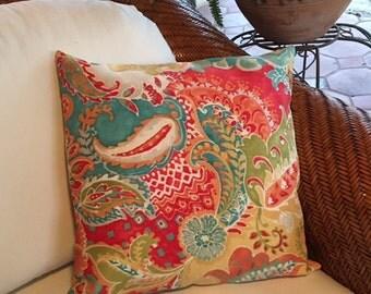 Outdoor Pillow Cover Decorative Throw Pillow cover, cushion pillow cover,Accent Pillow, Pillow slipcovers, Shams, Euro pillow cover