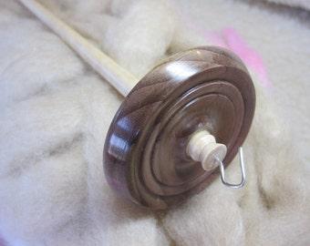 Drop Spindle - Rainbow Poplar & Pennsylvania Curly Maple