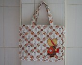 Handmade iPad Bag Fabric iPad bag Tablet bag Cotton bag Patchwork Girl Quilted Bag from Thailand