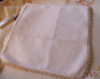 Handkerchief Irish Linen Hankie Bridal Wedding June Bride