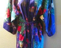Marnkyo Japan Peacock Robe