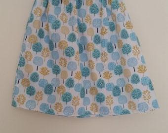 Elastic Waist Skirt - Organic Cotton XS
