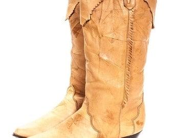 30% OFF Fringe Women's Cowboy Boot Size 7M