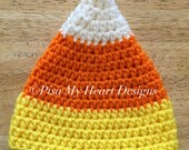 Candy Corn Baby Hat - Photography Prop