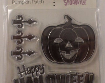 Clear Stamps Happy Halloween Cling Rubber Stamp Set #Cwr-41907