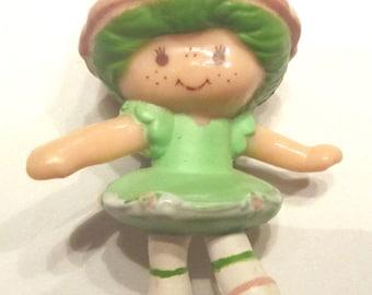 Lime Chiffon Ballerina Mini Strawberry shortcake PVC Figure Figurine