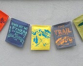 Hiker Prayer Flags. Backpacking Prayer Flags. Hiking Travel Gift.