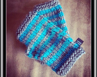 Fingerless Gloves - Stripes!