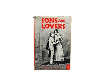 1922  Modern Library Novels Sons And Lovers DH Laurence Early 20th Century Fiction Classic Literature Love Desire Power Loss Death