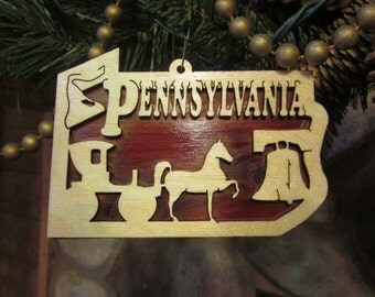 Pennsylvania Ornament