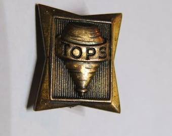 Vintage Tops CIGARETTE ROLLING PAPERS Premium Lapel Pinback Button