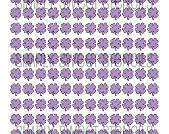 Clover Pattern Stencil